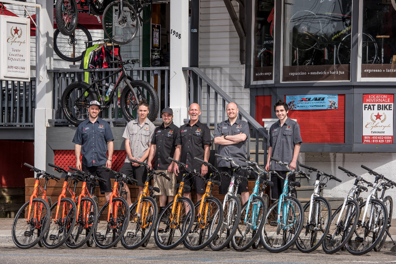 Cybercycle le bike shop du mont tremblant for Chambre de commerce mont tremblant